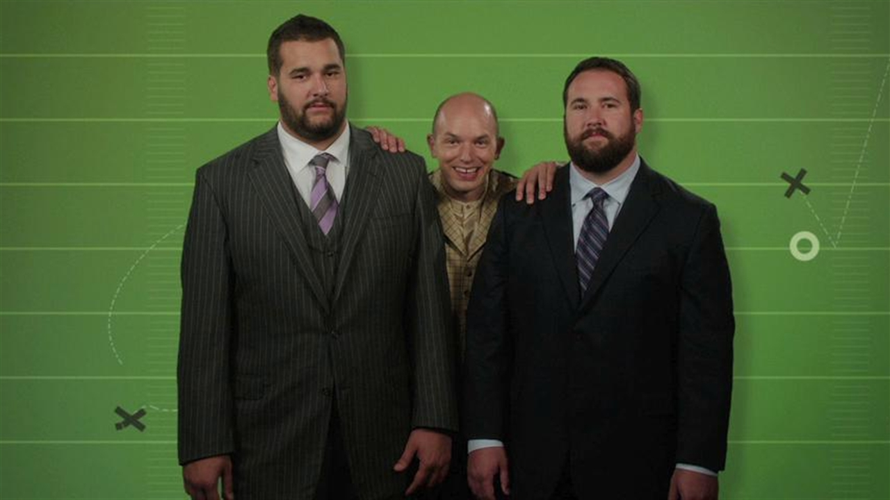 Ryan and Matt Kalil are in The League!